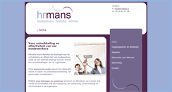 Preview of hr-mans.nl